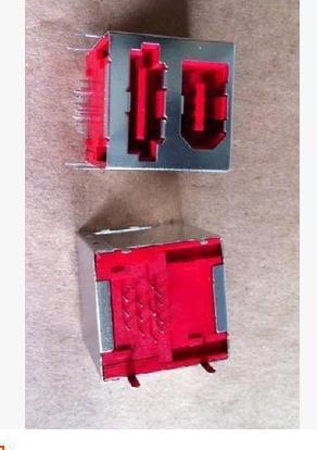 1394 + SATA socket high quality bunk combo connector
