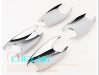 Exterior 4pcs ABS Car Door Handle Bowl Covers For BMW 5 series F10 5GT F07 2011 2015