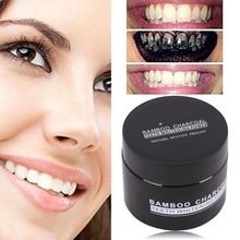 20g Aktivkohle Teeth Whitening Organic Natural Zahnpasta Powder Washed Weiße Zähne Mundhygiene Dental Health Care