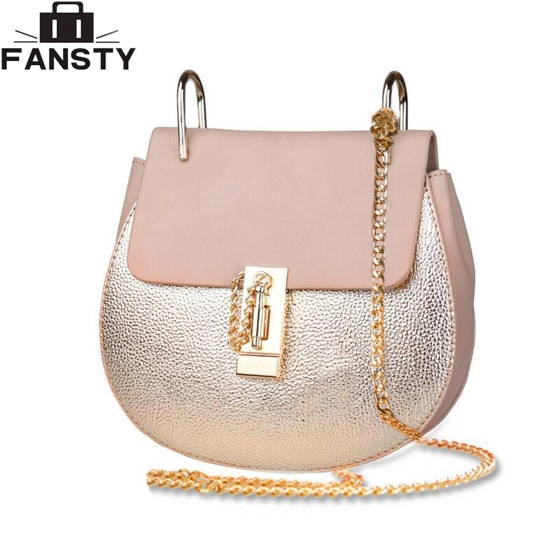 Brand Designer 2017 Summer Fashion Single Chain Women Crossbody Bag Female PU Leather Shoulder HandBag Messenger Bag for Youth