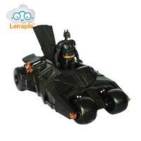 Lensple Oryginalne Batman Batmobil Rydwan Model Suszarka Toy PVC Figurka Mroczny Rycerz Powstaje Najlepsze Prezenty Urodzinowe Dla Dzieci