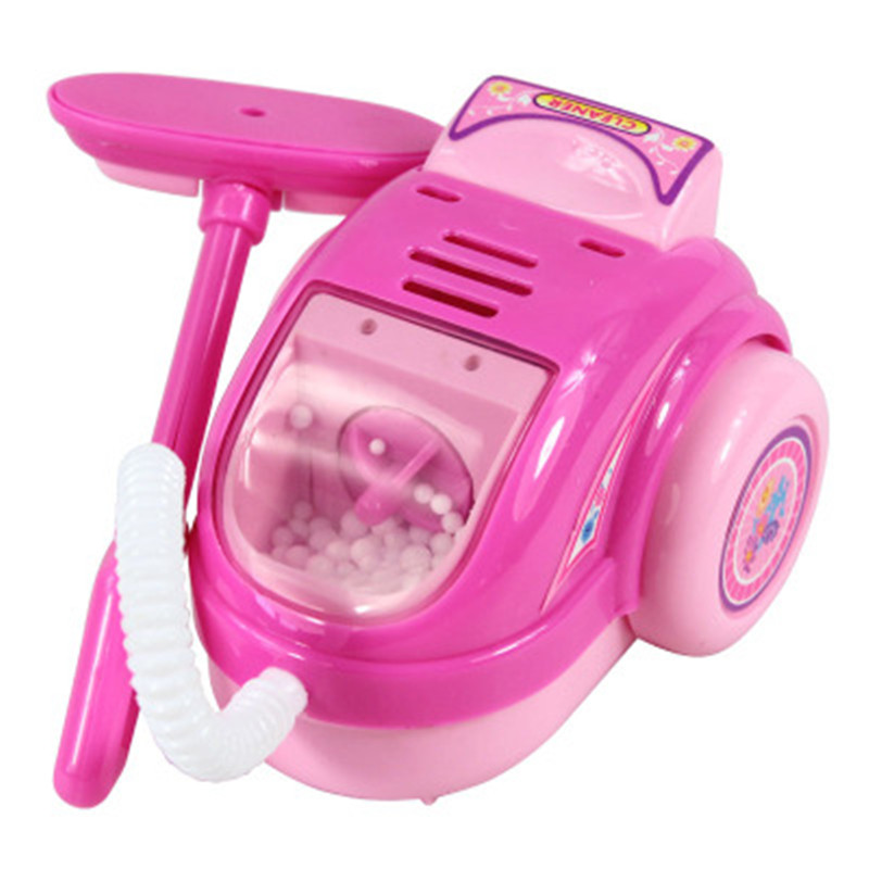 Vacuum Cleaner Toy Home Electrical Appliances Toy Children House Pretend  Play Light Kitchen Furniture Toy Cosplay For Kids