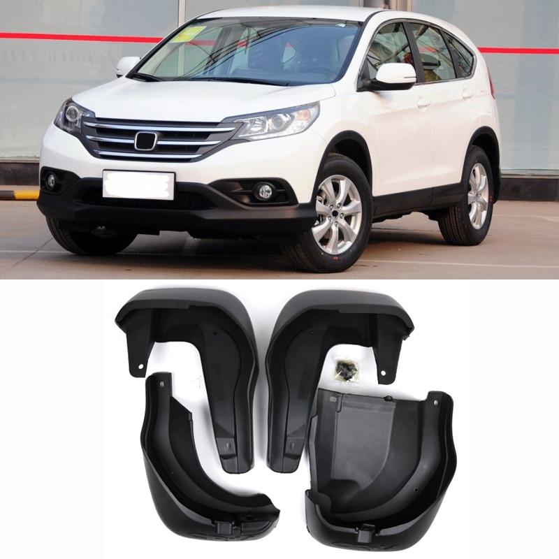 Set Molded Mud Flaps For Honda CR-V CRV 2012 - 2016 Mudflaps Splash Guards Front Rear Mud Flap Mudguards Fender 2013 2014 2015
