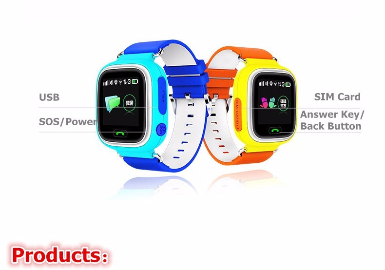 GPS Q90 Smart Watch Touch Clocks WIFI Location Children Baby SOS Call Finder Track gps Kid Safe Anti-Lost Monitor Device PK Q730 (19)