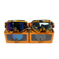 KTM brand Motocross goggles ATV DH MTB Dirt Bike Glasses Oculos Antiparras Gafas motocross Sunglasses Use For Motorcycle Helmet