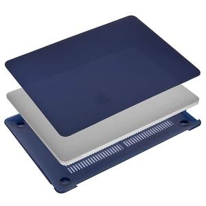 Image 4 - קריסטל מט חלבית מקרה כיסוי שרוול עבור Macbook אוויר רשתית Pro 13 15 עם/החוצה מגע בר A1706 A1707 a1990 אוויר 13 2018 A1932