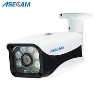 New HD IP Camera 1080P 48V poe Security Home CCTV IR Array Bullet Metal Waterproof Outdoor Onvif P2P Network Surveillance