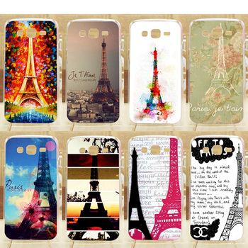 Colorful Fashion Eiffel Tower Series DIY Hard Case Cover for Samsung G350E mobile phone print case image