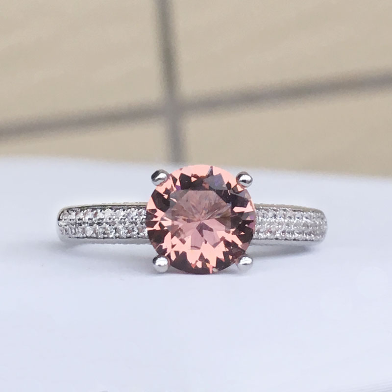 CSJ Classic Design Zultanite Ring Sterling Created Sultanite Color Change Fine Jewelry Women Wedding Engagement Party
