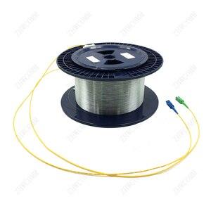 Image 4 - Zhwcomm sc المفردة واحدة قياس العارية الألياف otdr الألياف البصرية كابل 1 كيلومتر 9/125 otdr اختبار الألياف الضوئية بكرات