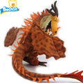 Cartoon Animal Stuffed Toys How To Train Your Dragon Monstrous Deadly Nadder Soft Plush Toothless Doll Double Heads Fire Dragon