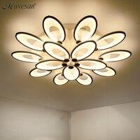 Remote Control Modern Led Ceiling Lights For Living Room Bedroom AC85 265V New White Modern Ceiling