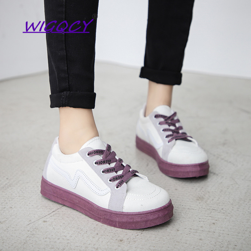 Canvas Shoes 2019 New Summer Korean Version Of The Versatile Flat With Casual Shoes Student Shoes Sneakers Comfortable Wearable