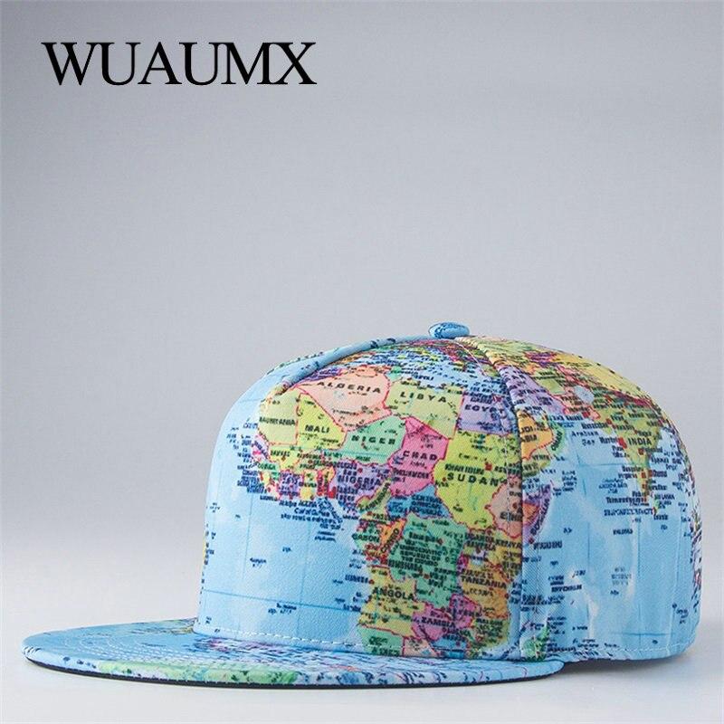 Wuaumx Hip Hop Cap Men