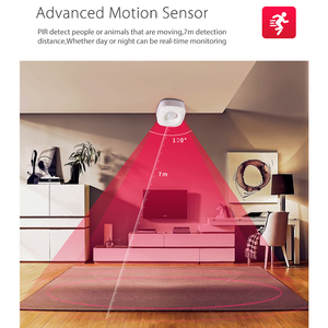 Image 3 - Smart Life Zigbee Intellige WiFi PIR Motion Sensor Wireless for Home Security Monitoring Support Google Home Sensitive Detection