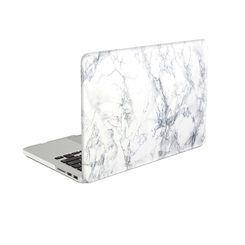 look for 1e8f3 d7592 US $25.99 |Rubberized white marble pattern Case Cover Sleeve for MacBook  Air 11 A1465/ air 13 inch A1466 pro 13.3 15 A1278 retina 13 A1502-in Laptop  ...