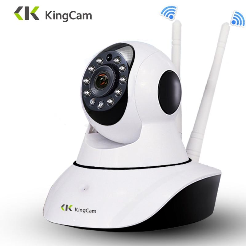 Kingcam HD 1080P Wifi IP Camera 360 Degrees Rotation Night Vision Network Surveillance Home Security Plug And Play PTZ Camera