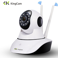 Kingcam HD 1080P Wifi IP Camera 360 Degrees Rotation Night Vision Network Surveillance Home Security Plug