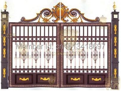 Incroyable Garden Door,security Swing Door,gate Door,villa Gate,patio9 In Doors From  Home Improvement On Aliexpress.com | Alibaba Group