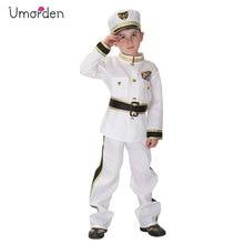 Umorden Purim Carnival Halloween Costumes Kids Boy Navy Marine Costume Cosplay Party Disfraces for Children Boys