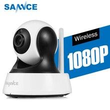 SANNCE 1080 P HD CCTV IP камера IR Cut день/ночное видение P2P Крытый 2MP беспроводная видеокамера с Wi-Fi детский монитор видеонаблюдения