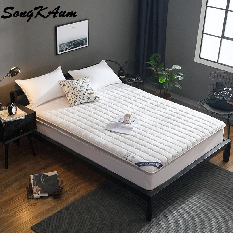 SongKAum High Resilience Memory Bedroom Furniture Classic Design Polyester Cotton Antibacterial Mattress