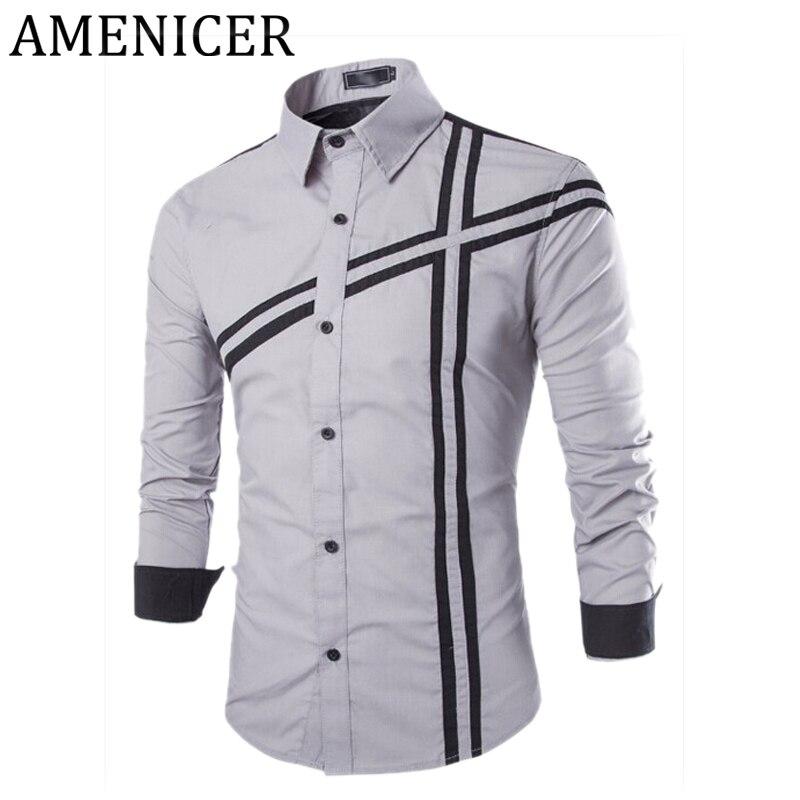 Popular mens collarless shirts buy cheap mens collarless for Collarless white shirt slim fit
