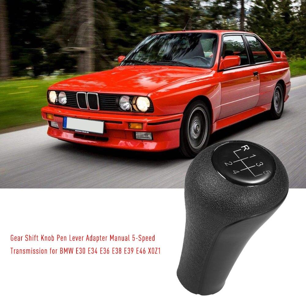 Kkmoon 5-velocidade do botão de mudança de engrenagem do carro transmissão para bmw 3 grave e30 e34 e36 e38 e39 e60 e90 e91 e92 x0z1 estilo do carro
