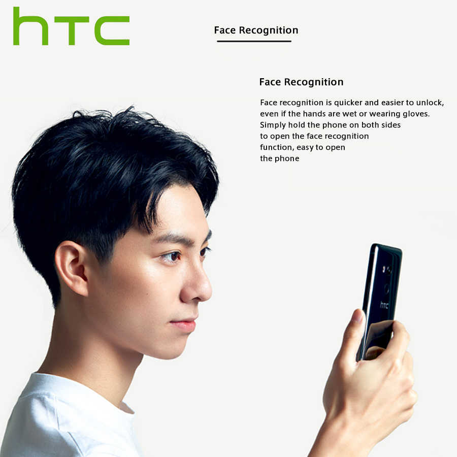 "Original NEW HTC U11 EYEs 4G LTE Mobile Phone Dual SIM 6.0"" 4GB RAM 64GB ROM Snapdragon 652 Octa Core IP67 Android Callphone NFC"