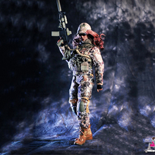 FeelToys 1/6 Female Commando Viper Camo Set without body and head for 12 inches girl Figure