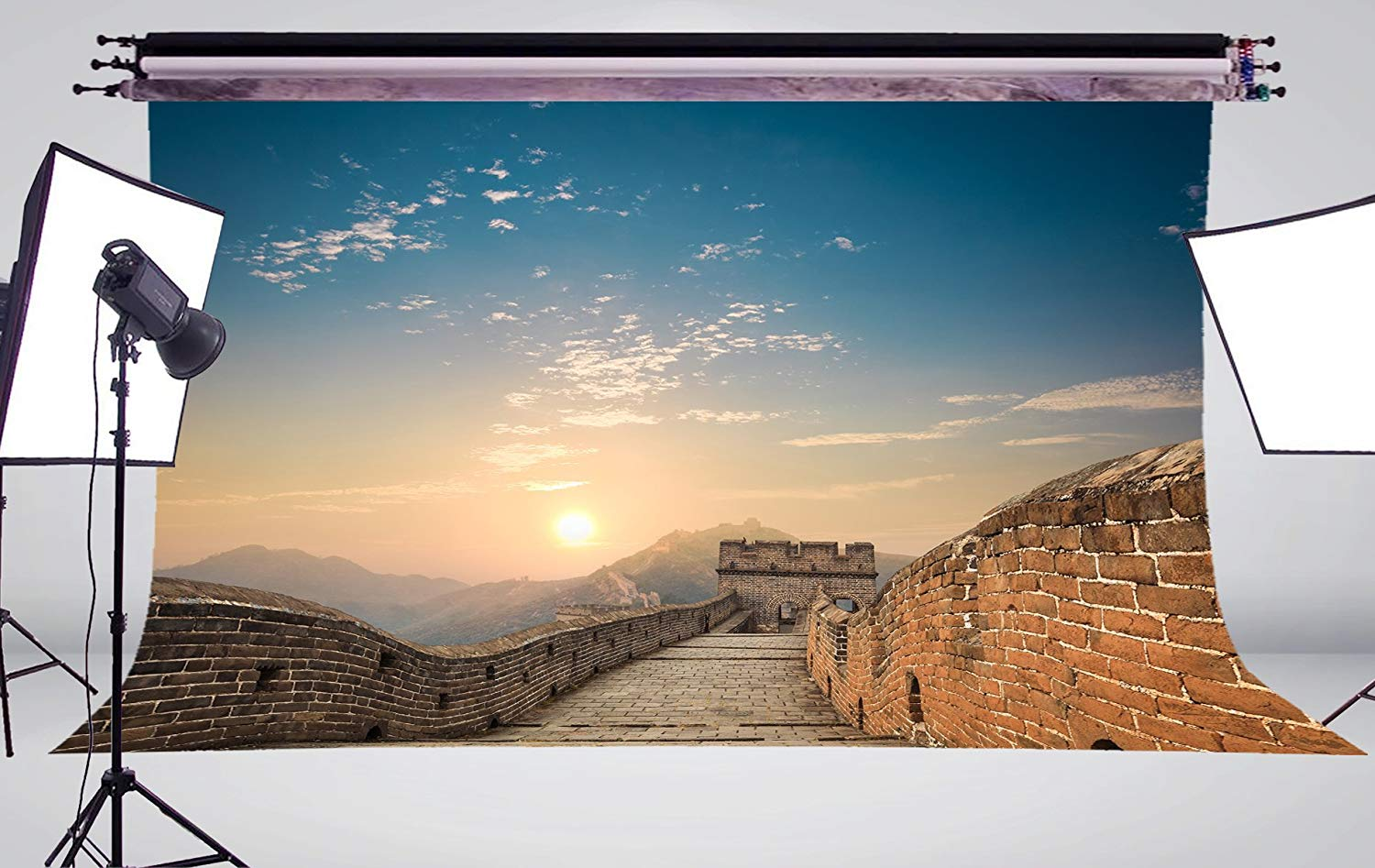 Image 3 - Majestic Spectacular Great Wall of China Background Natural Scenery Photo Studio Backdrop 150x220cm Photography Backdrops Wall-in Photo Studio Accessories from Consumer Electronics