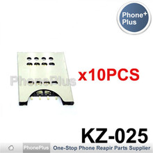 10/20/50/100PCS For Sony Xperia pro MK16 MK16i Sola MT27 MT27i Sim Card Slot Tray Holder Socket Reader Repair Part