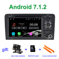 2 GB RAM Android 7.1 Car DVD Radio Player for AUDI A3 2002-2011 S3 RS3 with WiFi Bluetooth GPS Navigation Stereo