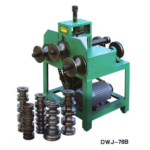 380v Or 220v Rolling Bending Machine DWJ-G76 Multi-function Electric Bending Machine Bender Bending Square And Round Tube