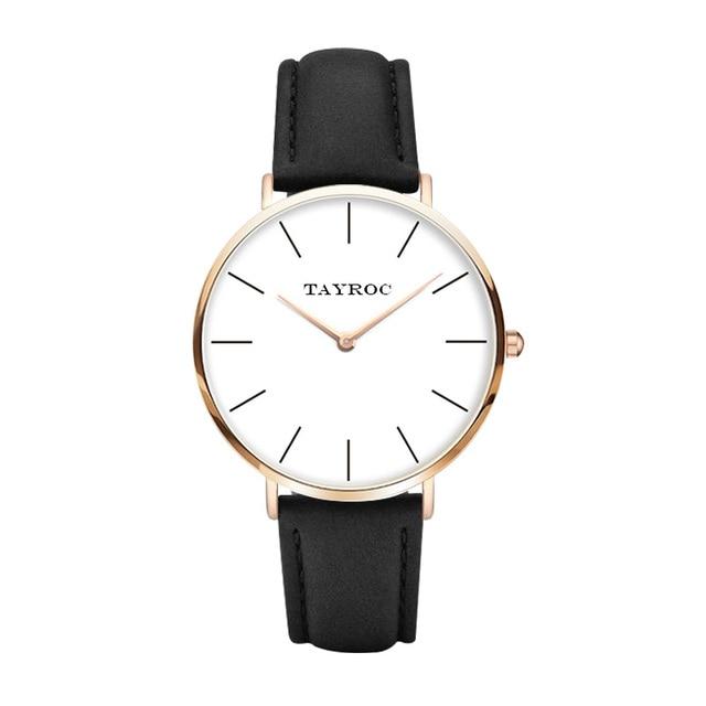 fcd626ad45f TAYROC Mens Relógios Top Marca de Luxo Moda Casual Esportes de Pulso  Militar Relógio de Quartzo