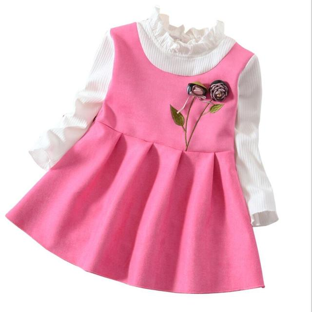 7afebc48e68a bibicola Girl dress princess spring dress wedding kids party dresses ...