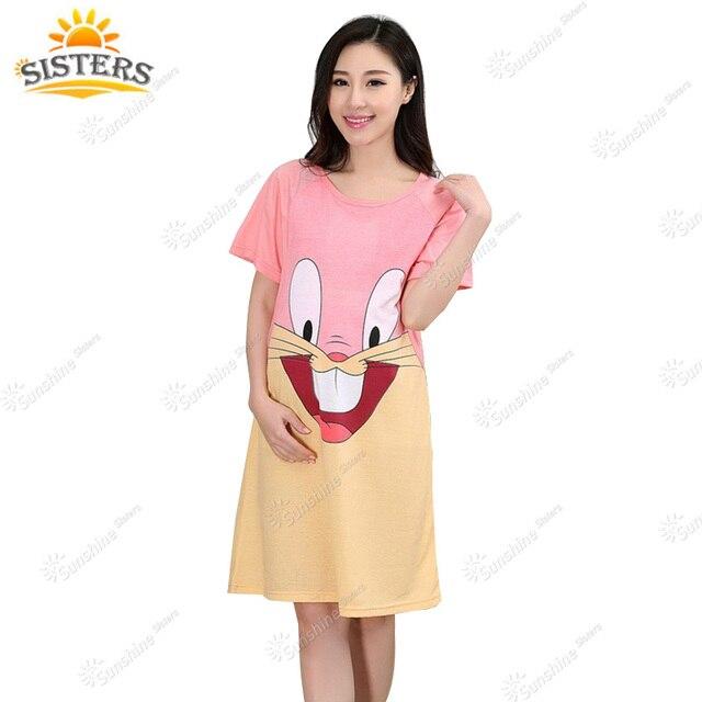 49da29011 Vestido Casual para embarazadas ropa de verano nueva maternidad ropa de  dormir ropa de enfermería para