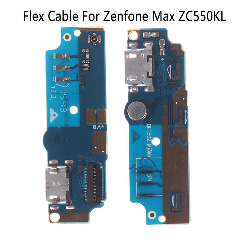 Port USB do ładowania giętki kabel do płytki drukowanej złącze części dla Asus Zenfone Max ZC550KL