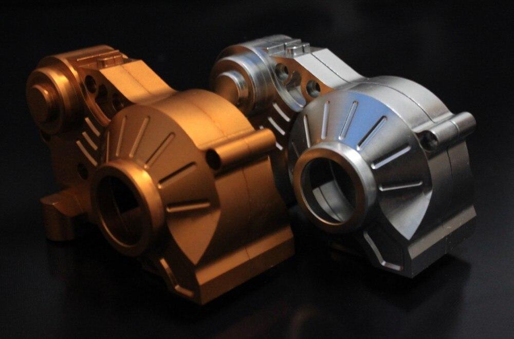 baja CNC gear box. sliver. oragne choose