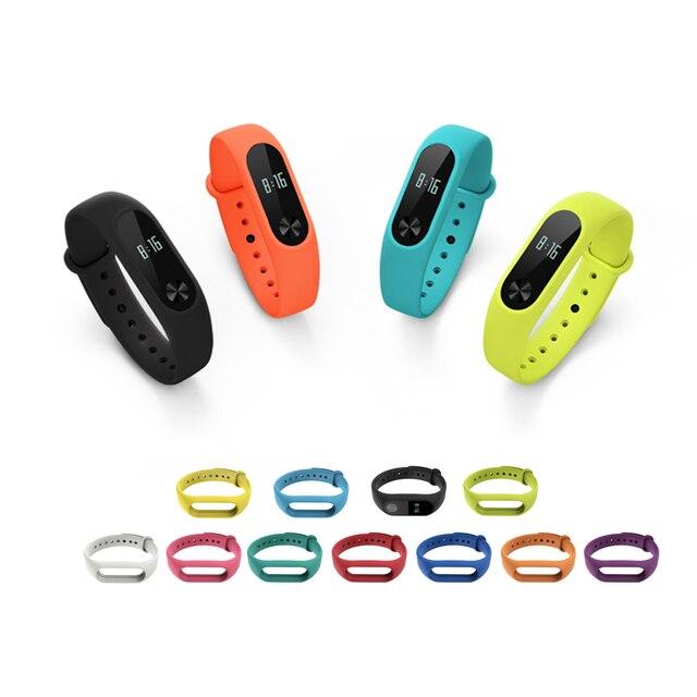 Silicone Wrist bracelet for Xiaomi Mi band 2 strap Wristband Mi band2 Sport wris