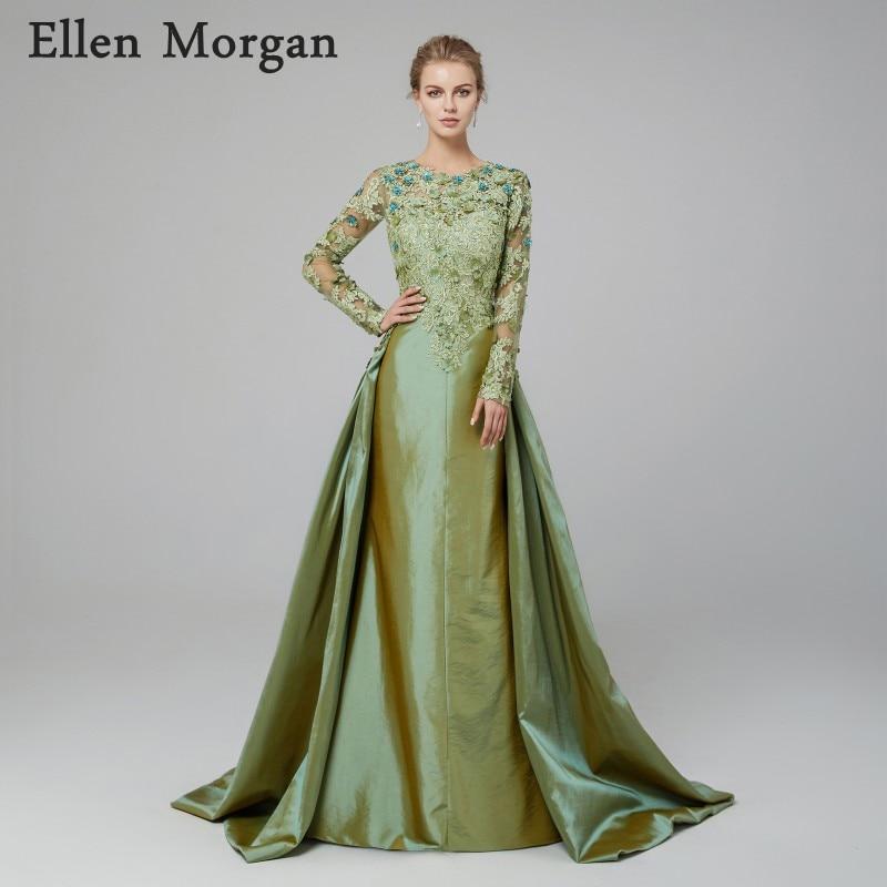 Saudi Arabian Mermaid Evening Dresses 2018 Robe De Soiree Kaftan