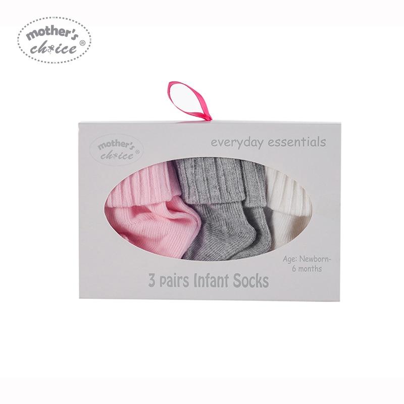 Mother's Choice 3 paar Baby katoenen sokken voor jongens meisjes Baby - Babykleding - Foto 2
