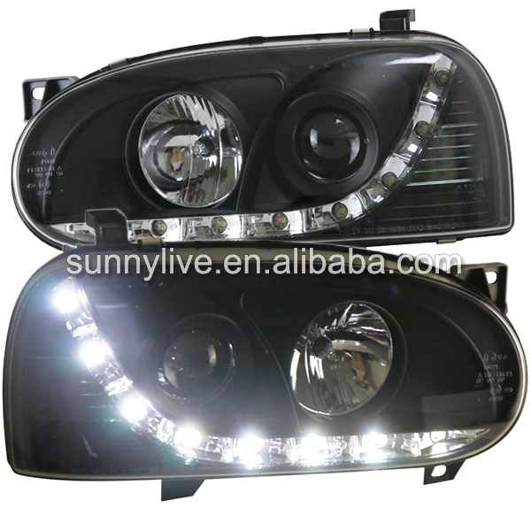 For Volkswagen Golf Mk3 led front light 1993 2002