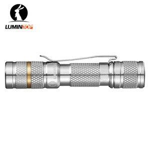 Image 3 - LUMINTOP Tool Ti AAA mini zaklamp met Cree en Nichia 219CT LED Titanium zaklamp Max 34 Meter Beam Afstand 110 lumen