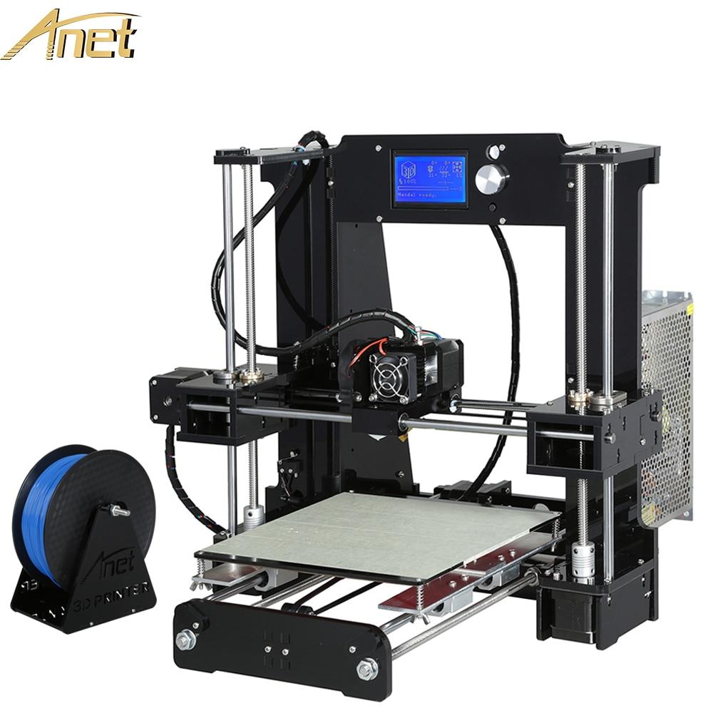 2016 Anet A6 3d font b printer b font big Manufacturer Upgrade Reprap Prusa i3 3D