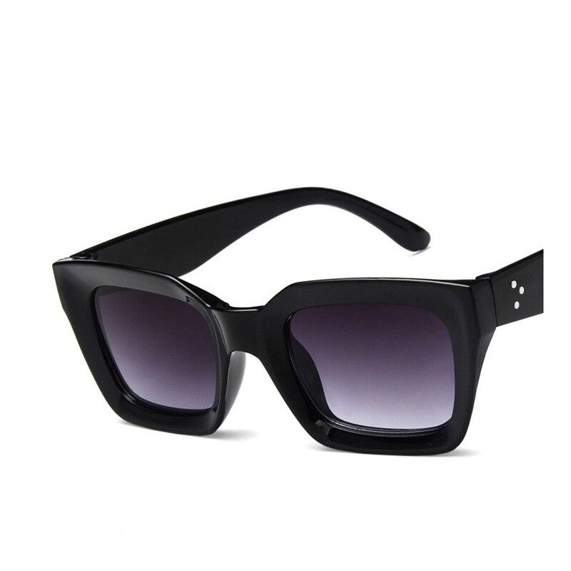 9f6b92898 2018 Nova Famosa Marca Designer óculos de Sol Quadrados Do Vintage para As Mulheres  Espelho óculos