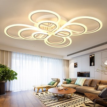 Modern Acrylic LED Ceiling Lights  Living Room Bedroom Dining Room Surface mounted Home Lighting Fixtures plafonnier led moderne