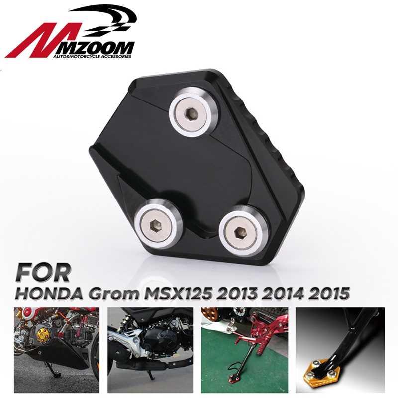 Motorbike Accessories Foot Side Stand Bike Kickstand Pad For Honda MSX125