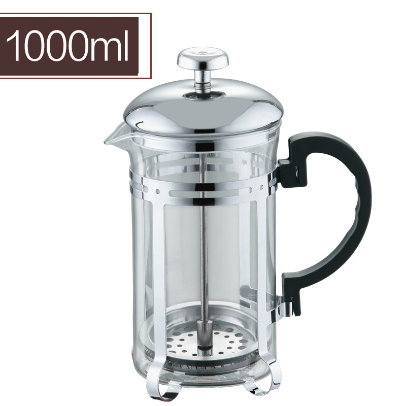 Thicken Stainless Steel Coffee Pot Filtration Cup Push