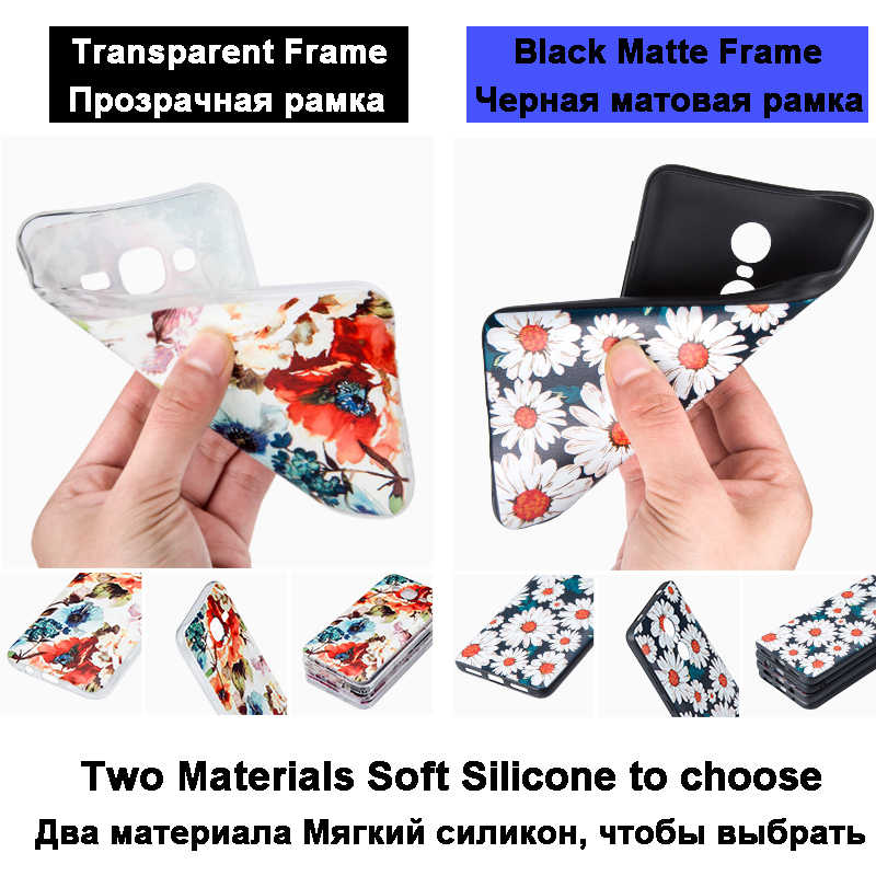Casos Para Xiao mi mi Max2 soft Case De Silicone para Xiao mi Mi max 2 flor cenário Pintado tampa Do Telefone para mi xio Mi max 2 Fundas
